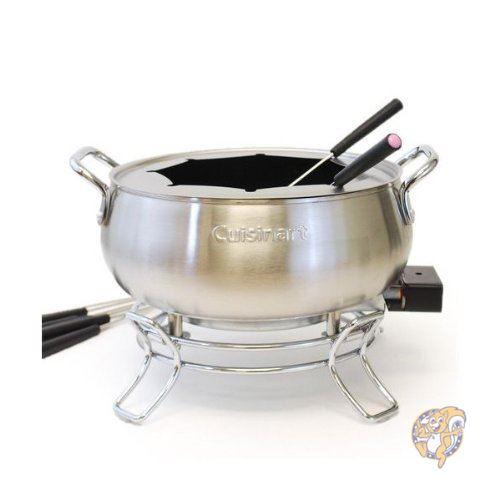 アメリカ発人気キッチン用品 クイジナート セール商品 未使用品 Cuisinart set並行輸入品 Fondue 電気フォンデュ鍋