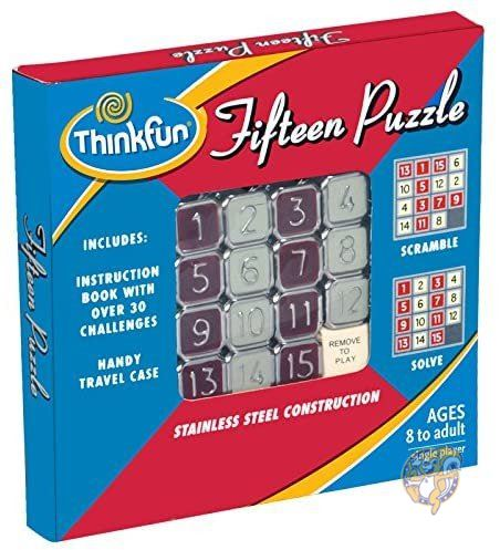 お気にいる シンクファン ThinkFun フィフティーンパズル クラシックパズルゲーム 超特価SALE開催 4900