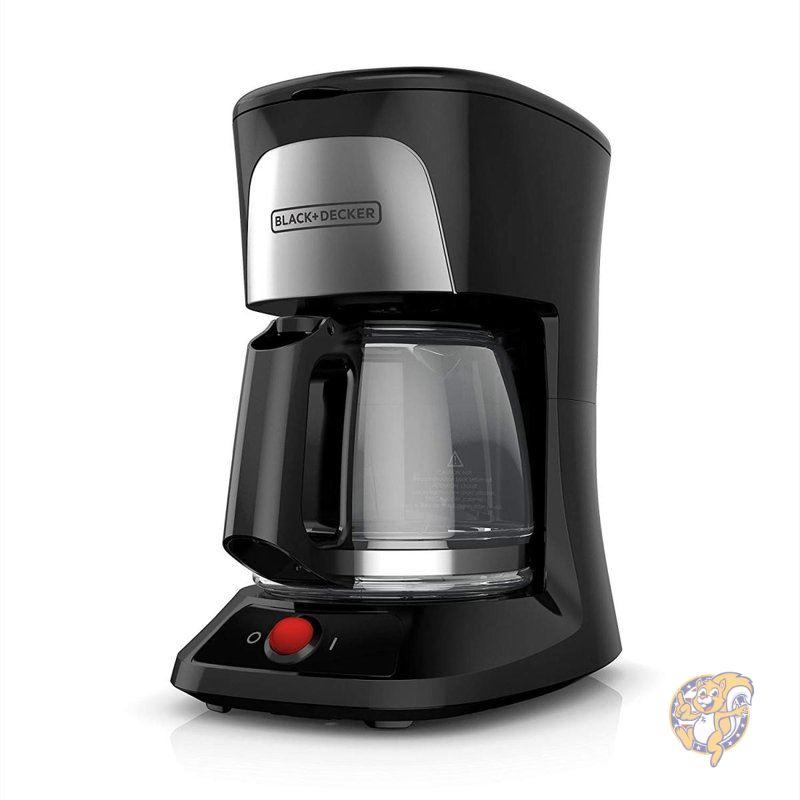 ショッピング ブラック アンド デッカー 時間指定不可 コーヒーメーカー ドリップ式 BLACK+DECKER CM0555B キッチン家電