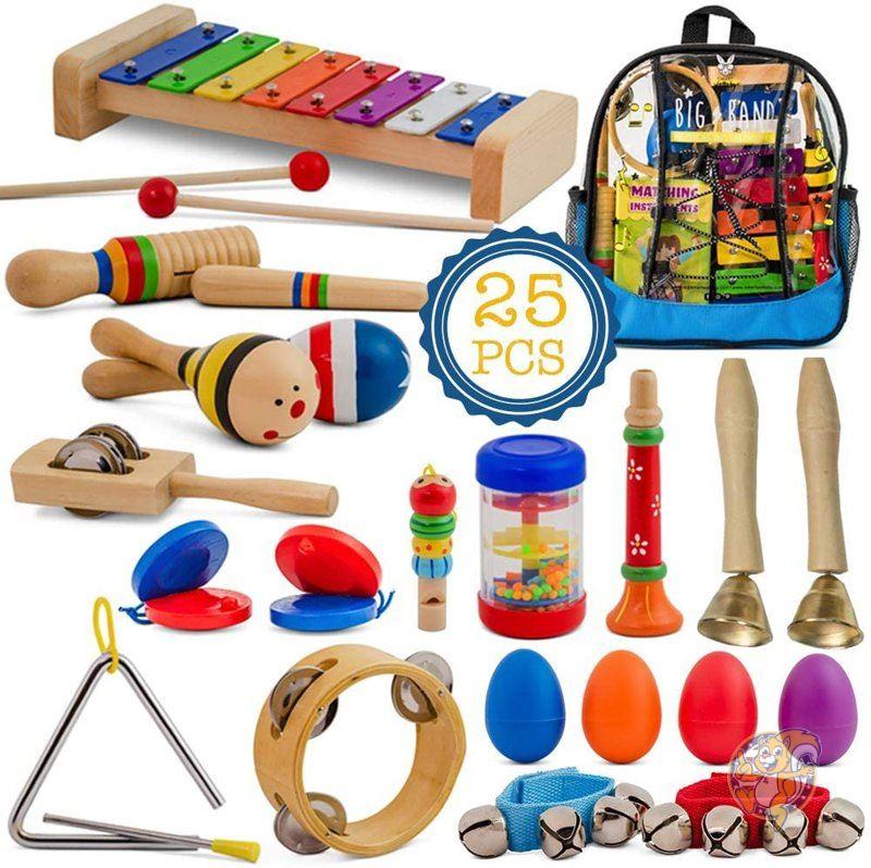 スマートワラビー キッズ 木製パーカッションセット SMART WALLABY 楽器 おもちゃ