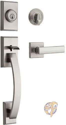 クイックセット 最新アイテム シングルシリンダーハンドルセット AL完売しました。 DIY用品 Tavaris Kwikset ドアハンドル