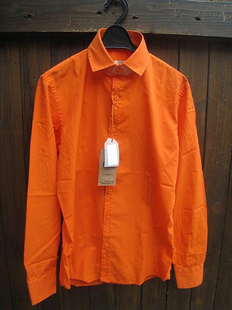 DOOA/ドーアカラーシャツ orange