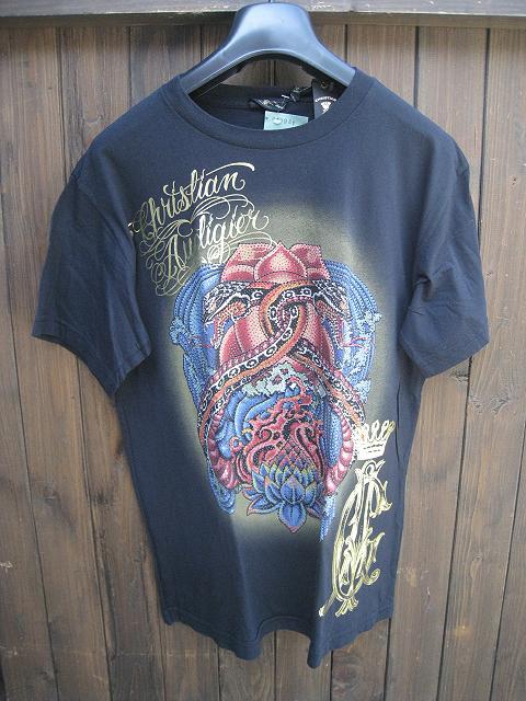 CHRISTIAN AUDIGIERクリスチャンオードジェーBSCPLTNM Tシャツ black