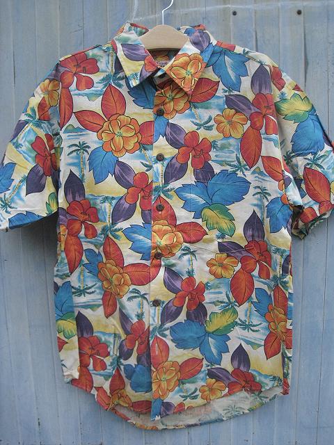 IS LAND HENPアロハシャツ[E]アイランドヘンプアロハシャツ