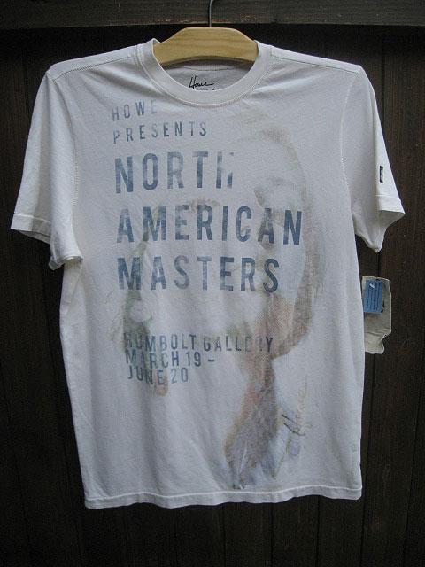 HOWE/ハウCOLORIST Tシャツ off white