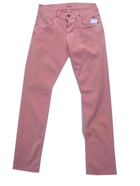 HUDSON/ハドソンジーンズストレッチカラーパンツ サーモンピンク
