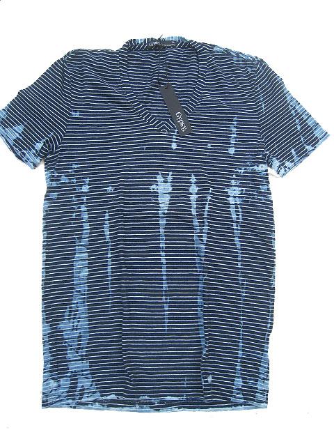 GYPSY05/ジプシーメンズVネックTシャツ indigo