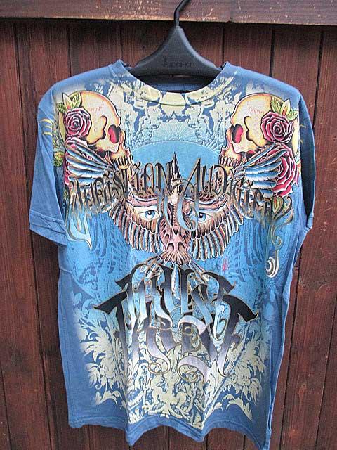 【クリスチャンオードジェー】CHRISTIAN AUDIGIER S/S TEE [Blue]半袖 Tシャツ 送料無料