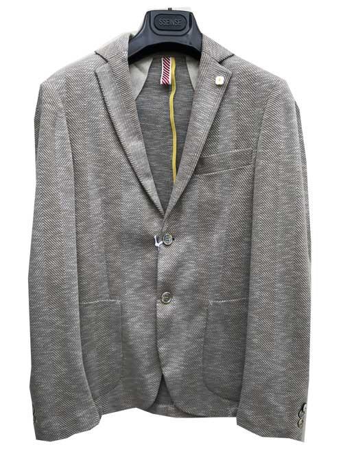 SSEINSEセンステーラードジャケット ヘリンボーンgeige サイズ46のみ
