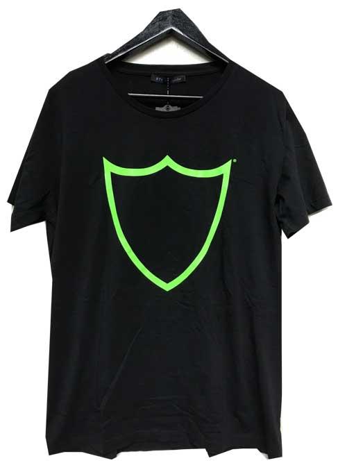 HTC ITALY/エイチティーシーロゴTシャツ black/green
