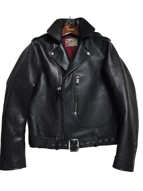 Y'2 LEATHERワイツーレザー ECO HORSE 1930's DOUBLE MOTORCYCLE JACKETレザージャケット