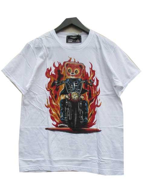 DOM REBEL/ドムレーベルRIDER Tシャツ white