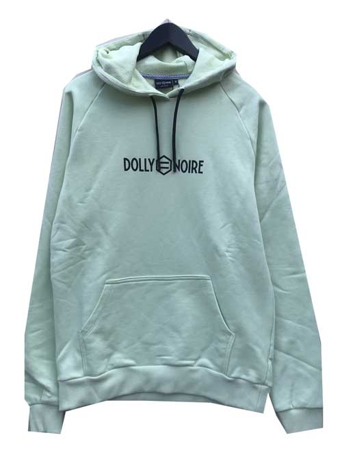 DOLLY NOIREドリーノアールCAPTAL LOGO HOODIE green
