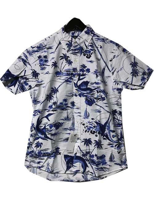 POLO RALPH LAUREN/ポロラルフローレンボタンダウン半袖シャツwhite半袖シャツ