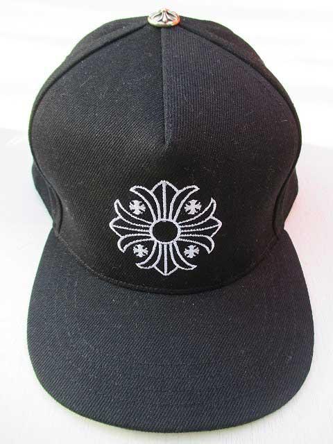 CHROME HEARTSクロムハーツキャップ クロス刺繍black