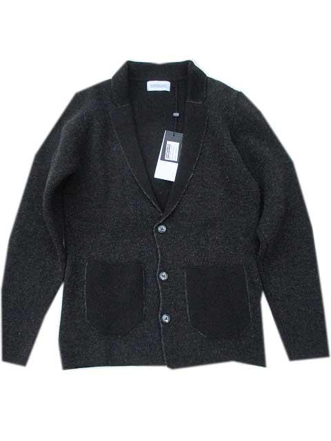HAMAKI-HOハマキホニットジャケット grey/black