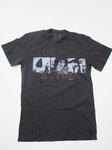 CHROME HEARTSクロムハーツローリングストーンズコラボTシャツ  black