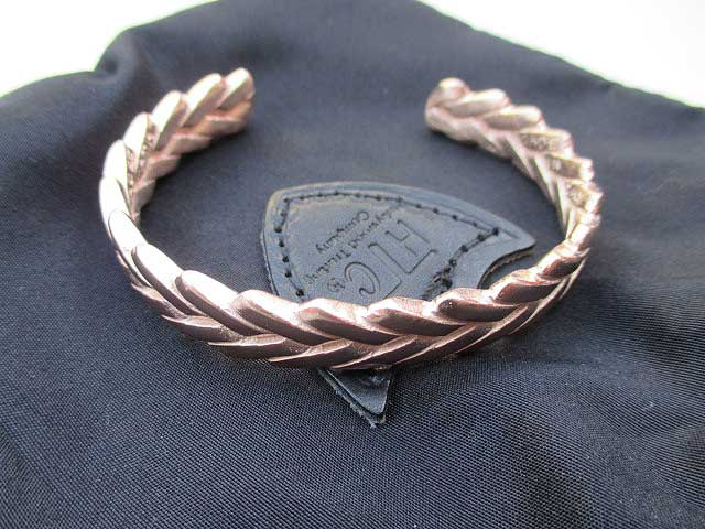 HTC ITALYエイチティーシーイタリーバングル(真鍮)bronze