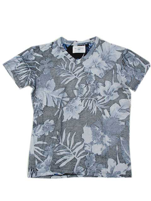 SOL ANGELESソルエンジェルINDIGO PLAM VネックTシャツ