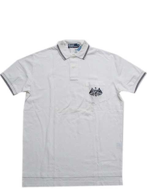 "Polo Ralph Laurenポロシャツ ""鹿の子""[white]"