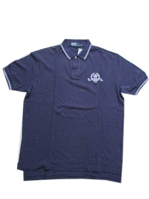 "Polo Ralph Laurenポロシャツ ""鹿の子""[navy]"
