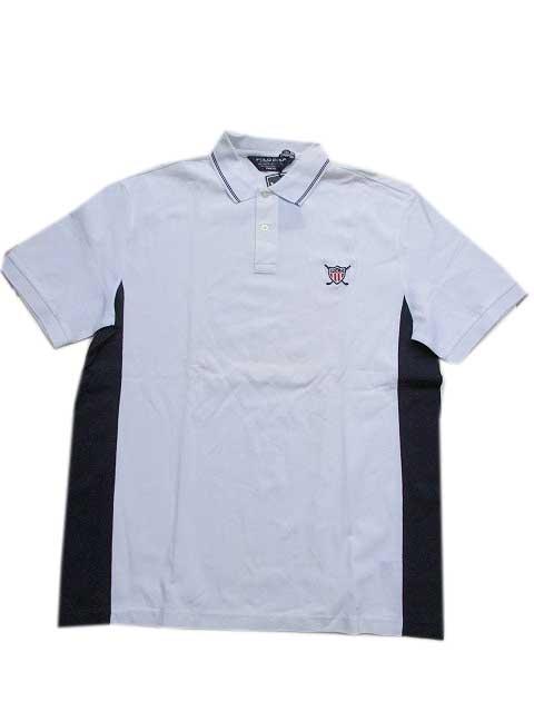 "Polo Ralph Laurenポロシャツ POLO GOLF ""鹿の子""[white]"
