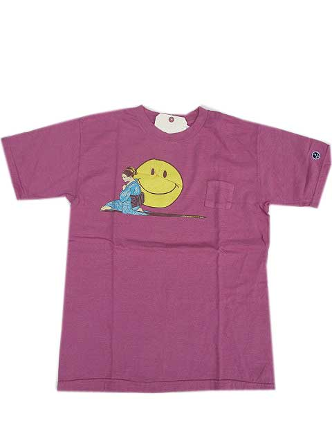 JACKSON MATISSEジャクソンマティスYUSUKE TSUGE ORIENT POKET Tシャツ パープル