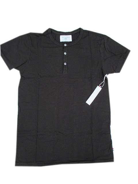 SOL ANGELESソルエンジェルス ヘンリーネックTシャツ black