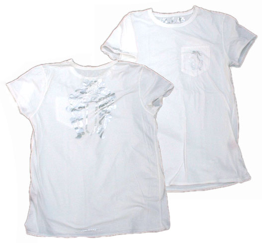 A&G/エーアンドジー  ダガーTシャツ [White]