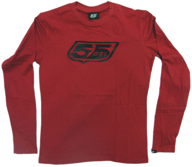 55DSL L/S TEE TATO LONG T-SHIRT [Red/D426]
