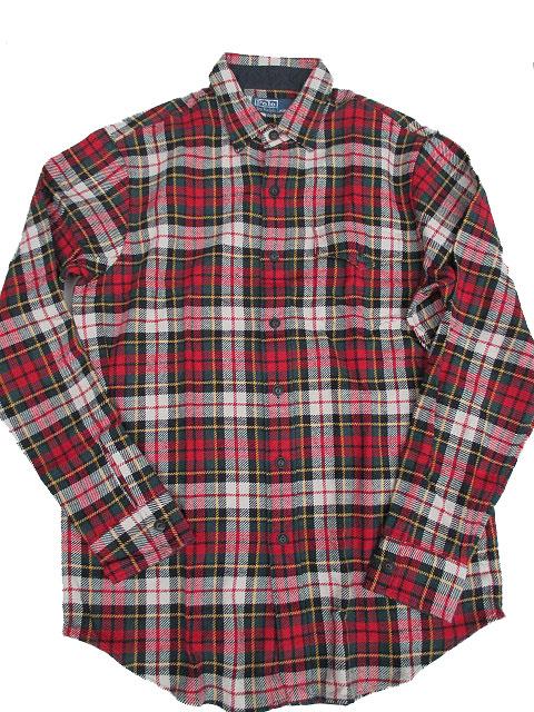 POLO RALPH LAUREN/ラルフローレンヘビーウェイトチェックシャツ