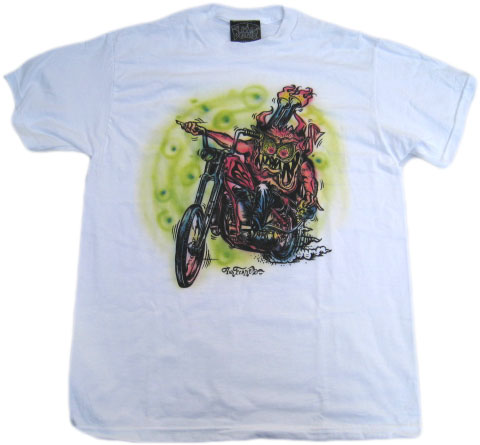 EROSTY POP LIMITED EDITION ¨MONSTER T-SHIRT¨ 01エロスティーポップ