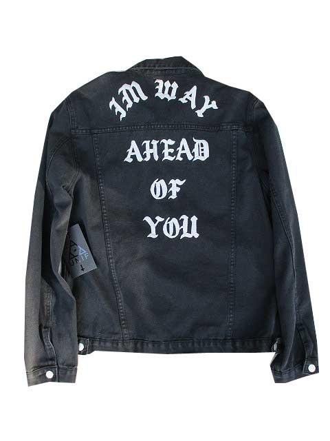 UNIF/ユニフA HEAD OF YOU ジャケット black