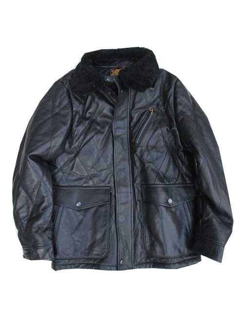 Y'2 LEATHERワイツーレザーシンサレートレーシングジャケット black