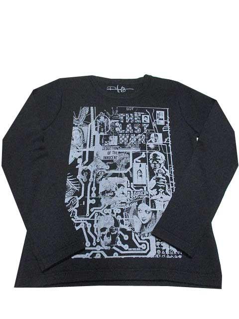 ROLLAND BERRYローランドベリーBOX ART クルーニット black
