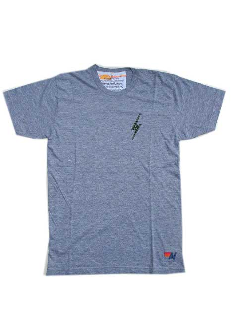 AVIATOR NATIONアビエーターネーションBOLT STITCH Tシャツ - HEATHER GREY