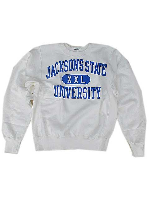 JACKSON MATISSEジャクソンマティスJACKSON STATE スェットwhite