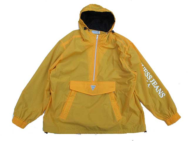 GUESS GREEN LABELゲスグリーンレーベルGUESS ANORACK JACKET yellow