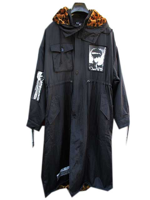 NCS NOT COMMON SENSEノットコモンセンスPUNK ART LONG COAT JKT