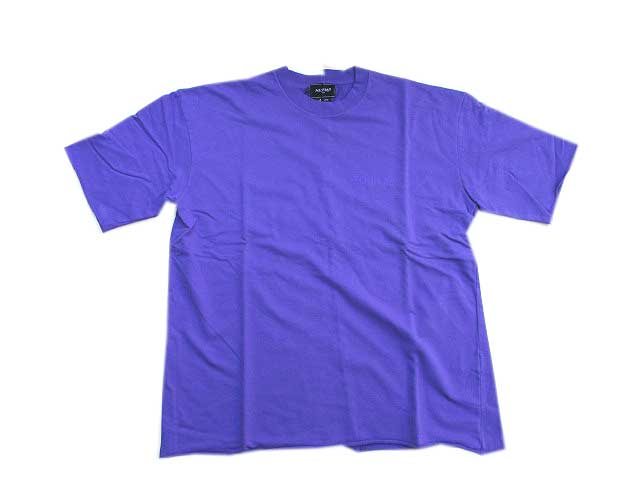 HALFMAN USA ハーフマンTOUR89 PIGMENT Tシャツラベンダー