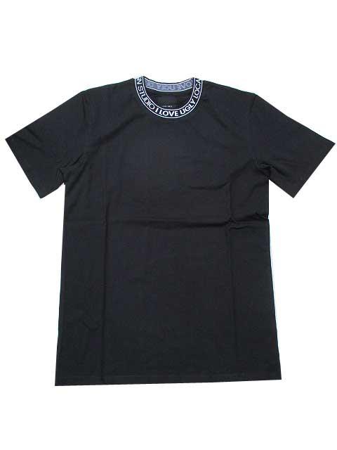 I LOVE UGLYアイラブアグリーNECK LOGO Tシャツblack