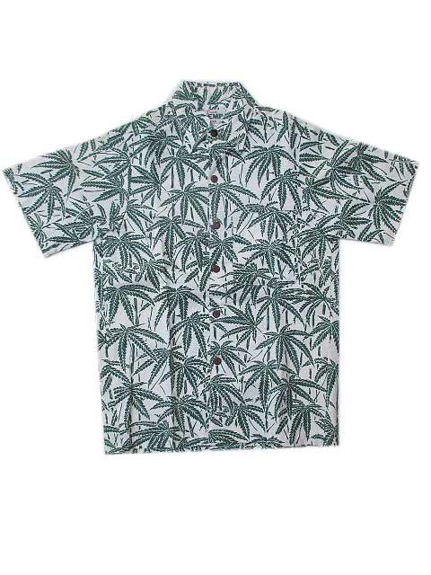 IS LAND HENPアロハシャツ[B]アイランドヘンプアロハシャツ