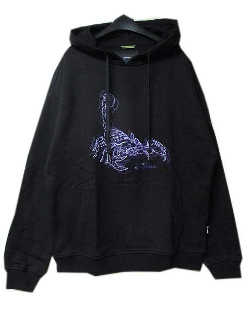 KONUSコーナスScorpion Linework Hoodie black/purple