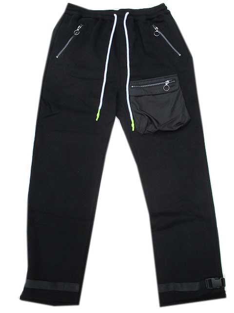 KONUSコーナスBellow Pocket Pants black