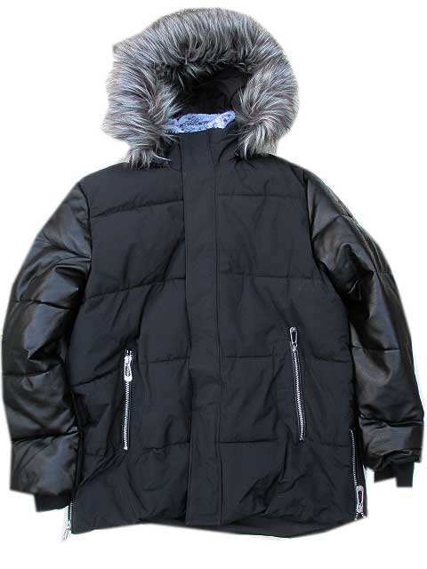 NOIZEノイズMACK Heavyweight Parka black