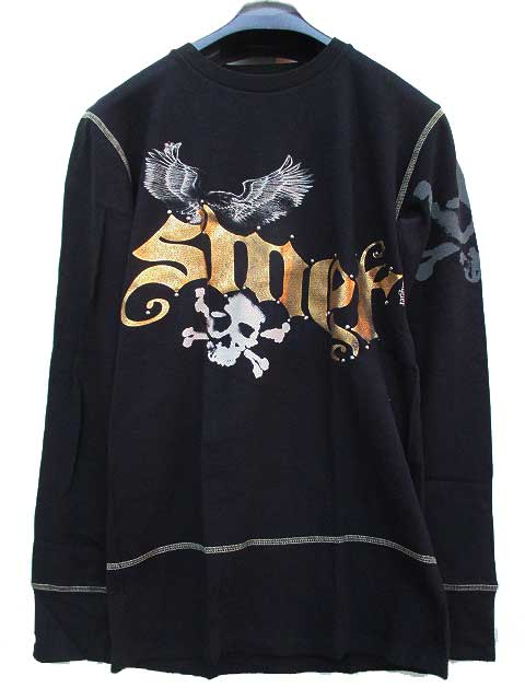 SMET[BLACK]:specialty THERMALスメットサーマルL/STシャツ