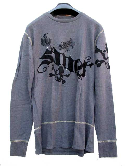 SMET[GREY]specialty THERMALスメットサーマルL/Sシャツ