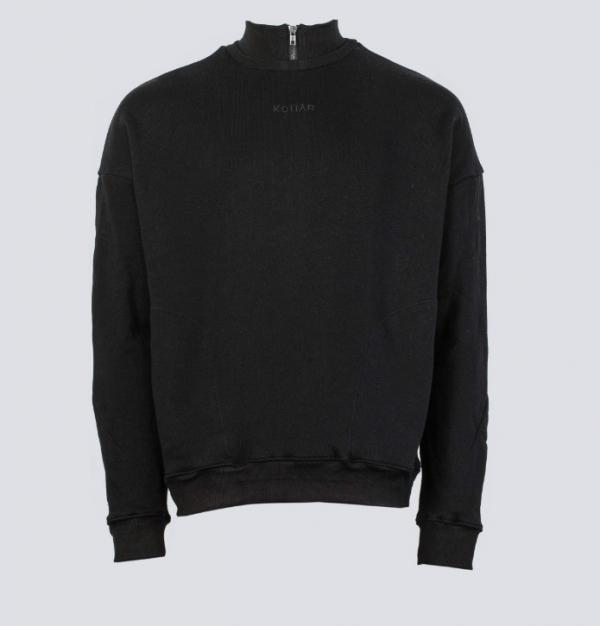 KOLLAR CLOTHINGコラーLOGO PULLOVER - BLACK