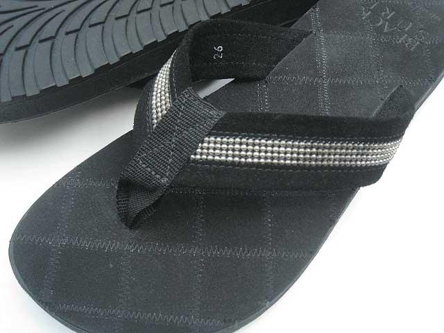 BLACK SURF/ブラックサーフ SILVIAN SILVIAN サンダル black/black