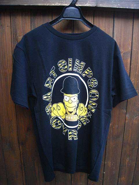 JOY RICH/ジョイリッチBAD BOY BART Tシャツ black